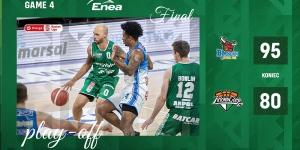 W finale Energa Basket Ligi 1-3