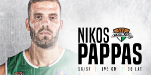 Nikos Pappas nowym graczem Enei Zastalu BC