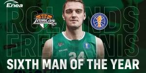 Rolands Freimanis - Sixth Man of the Year ligi VTB