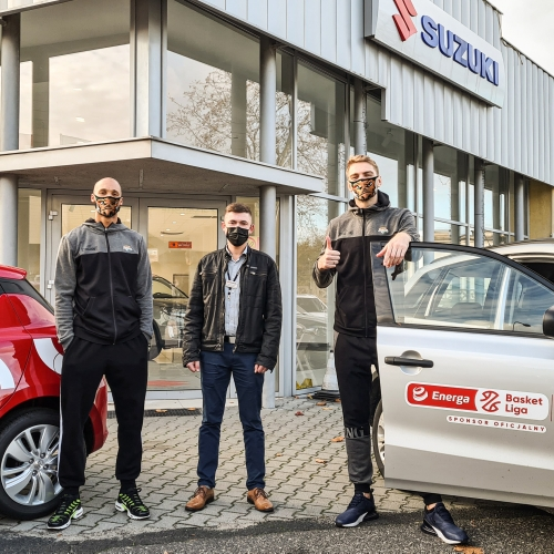 Suzuki wspiera Zastal Eneę BC