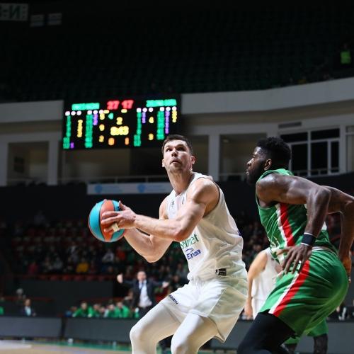 Porażka po walce. Stelmet Enea BC przegrywa w Kazaniu.