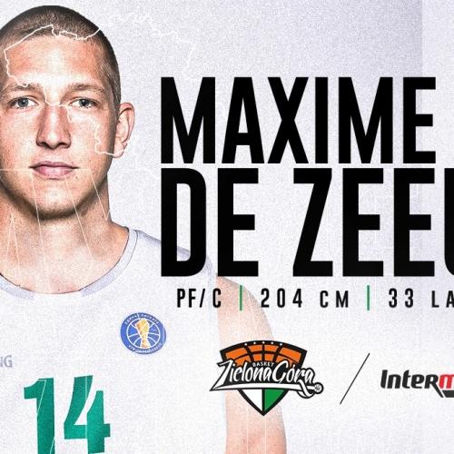 Maxime De Zeeuw graczem Stelmetu Enei BC