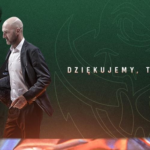 Coach Miłoszewski part ways with the club