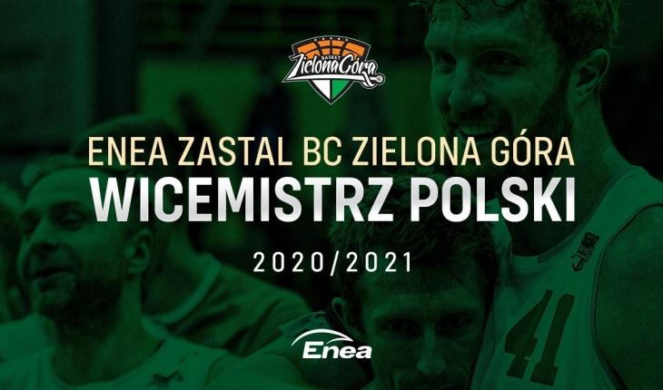 Enea Zastal BC Zielona Góra wicemistrzem Polski