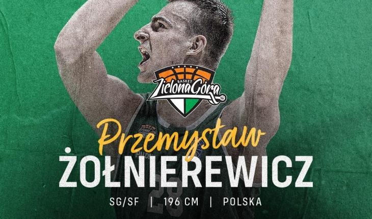 Przemysław Żołnierewicz zawodnikiem Enei Zastalu BC Zielona Góra